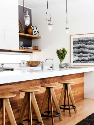 White And Wood Kitchen 1